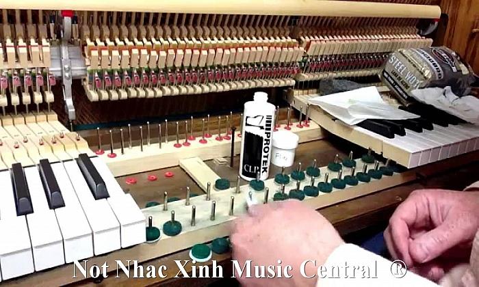 Hướng dẫn sử dụng, bảo quản & sửa chữa đàn piano